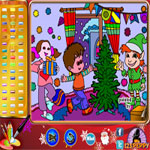 christmas-party-online-coloring-page150x150