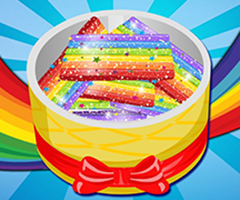 Rainbow Sugar Cookies 240x200