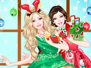 barbie christmas princess dress up180x135