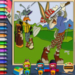 bugs-bunny-golf-online-coloring-page-150x150