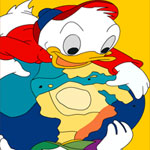 huey-dewey-louie-duck-with-earth-online-coloring-game-150x150