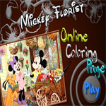 mickey-florist-online-coloring-page-150x150