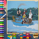 popeye-online-coloring-page-150x150