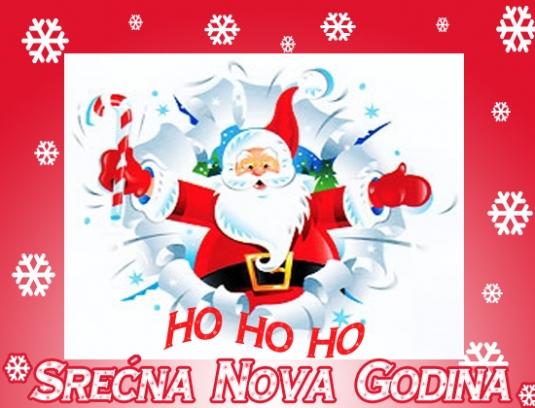Ho, Ho, Ho! Srecna Nova godina!